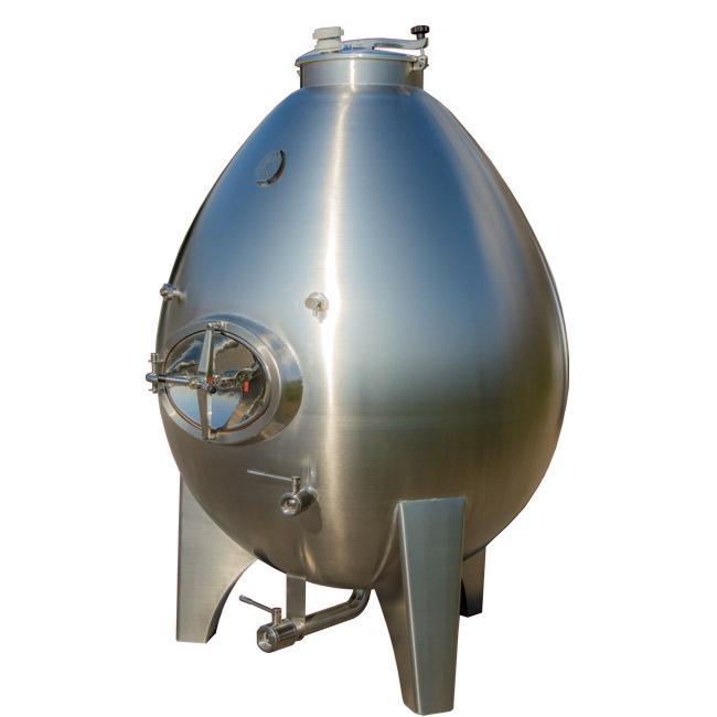 Inox egg wine tank