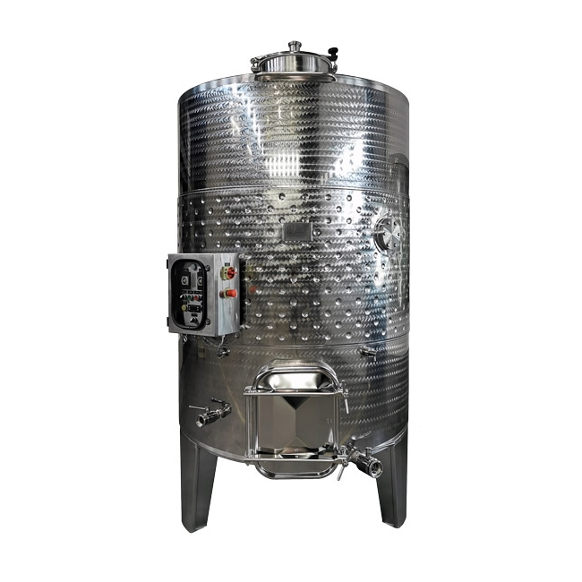 Red wine mash fermenter
