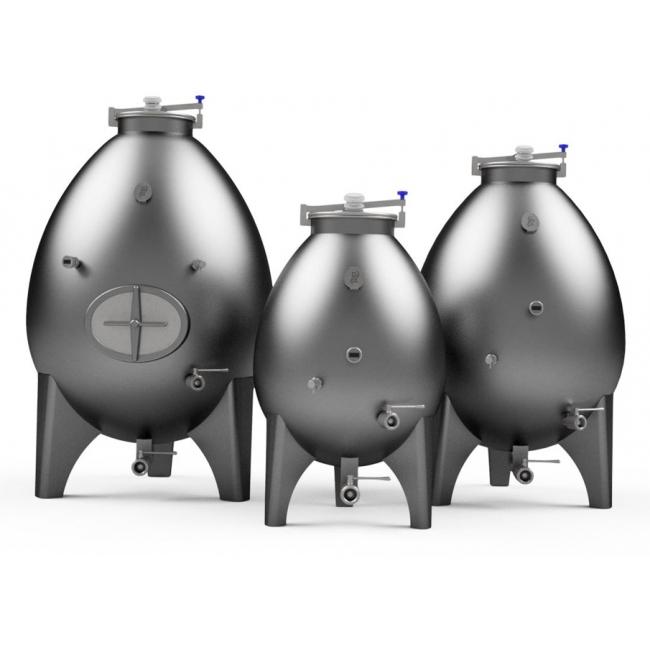 Stainless steel egg fermenters